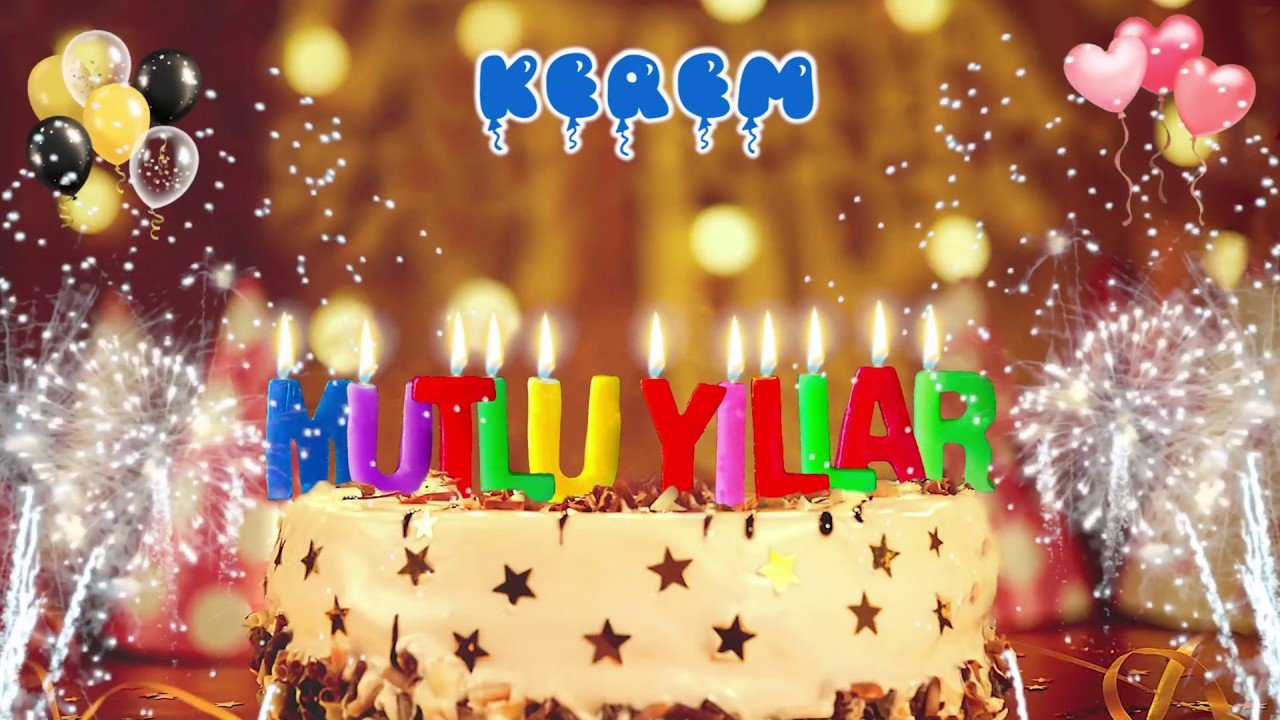 İyi ki doğdun KEREM doğum günün kutlu olsun, Mutlu Yıllar Kerem, İsme Özel Doğum Günü Şarkısı