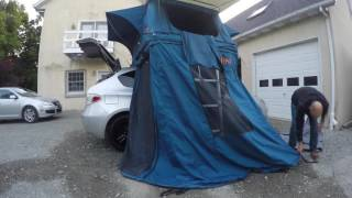 Mounting the Tepui Ayer Rooftop Tent on My Subaru