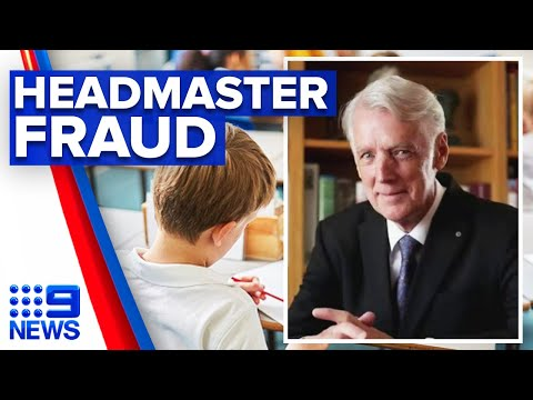 Former headmaster pleads guilty to working without qualification | 9 News Australia