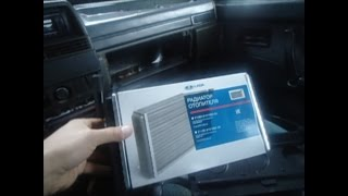 видео Ваз 21099: замена радиатора печки своими руками