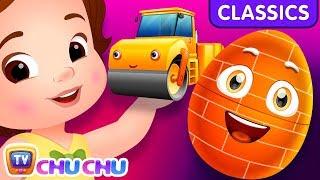 ChuChu TV Classics - Construction Vehicles for Kids | Surprise Eggs Nursery Rhymes