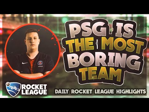 OMG Rocket League Moments: PSG is the most boring team thumbnail