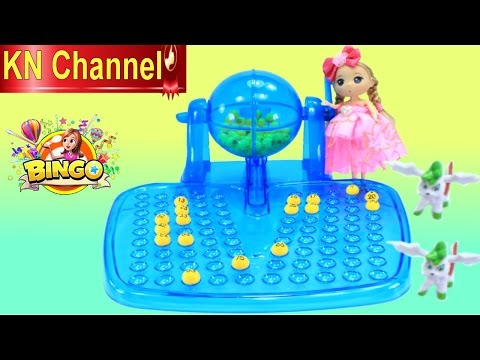 Đồ chơi trẻ em BÚP BÊ CHƠI LÔ TÔ tập 2 GAME BINGO NHẬT BẢN  Baby Doll Kids toy