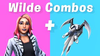 10 Best Wilde Skin + backbling combos in Fortnite (New starter pack)