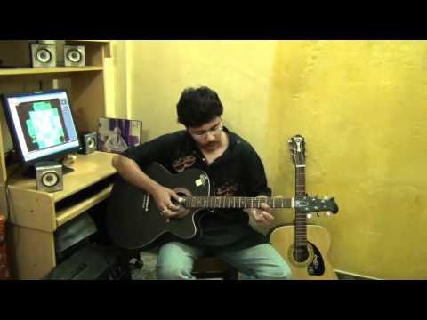 Aguner parosh moni ( Rabindrasangeet ) on spanish guitar by Pramit Das.avi