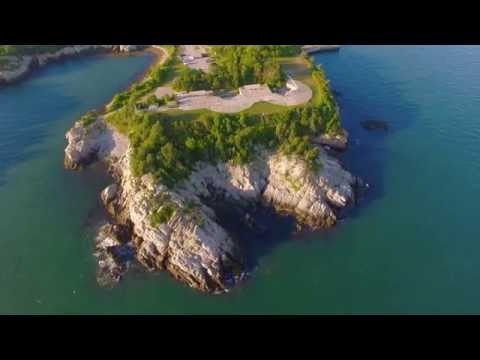 Welcome to Rhode Island... from above (4k)