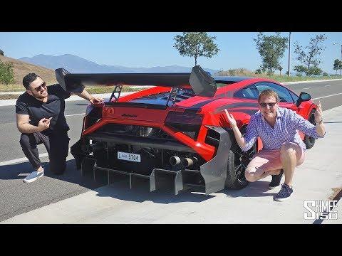 My Friend's Insane Lamborghini has a BAZOOKA Exhaust Mode!