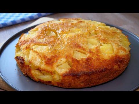 3 Äpfel und 10 Minuten für diesen leckeren Apfelkuchen 2.0   neue Variante + Anschnitt