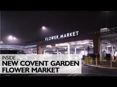 Inside The New Covent Garden Flower Market