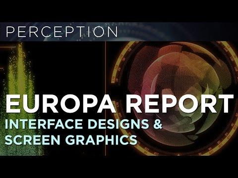 Europa Report Interface & Screen Design