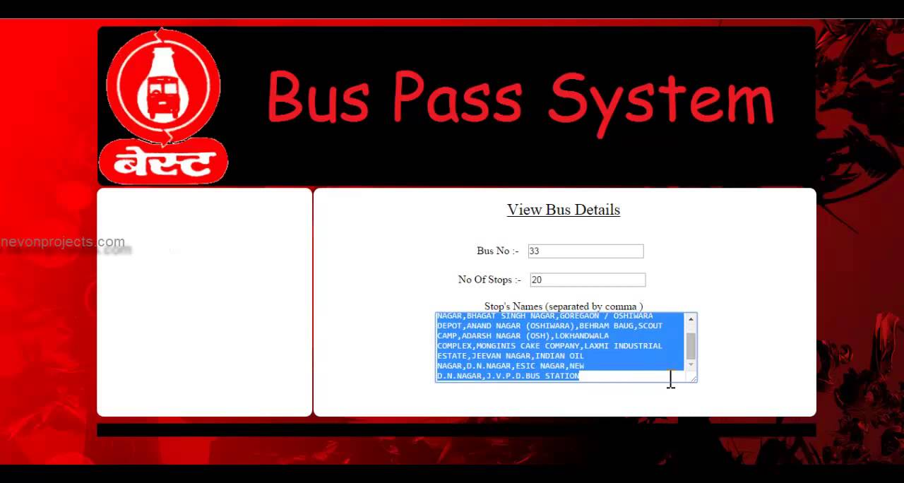 Tsrtc Student Bus Pass Application Form Pdf