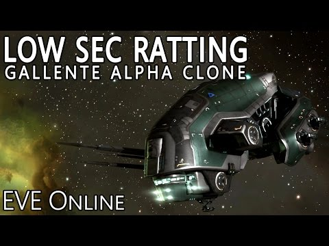 EVE Online Gallente Alpha Clone Guide to Low Sec Ratting