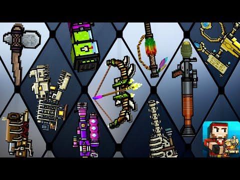 Pixel Gun 3D - All New Weapons Shots Damage 14.1.0