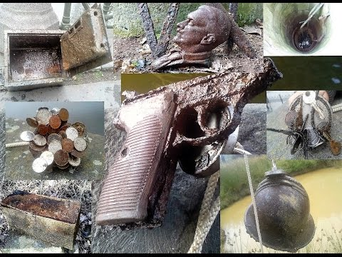 The best of Magnet fishing from Czech diggers.