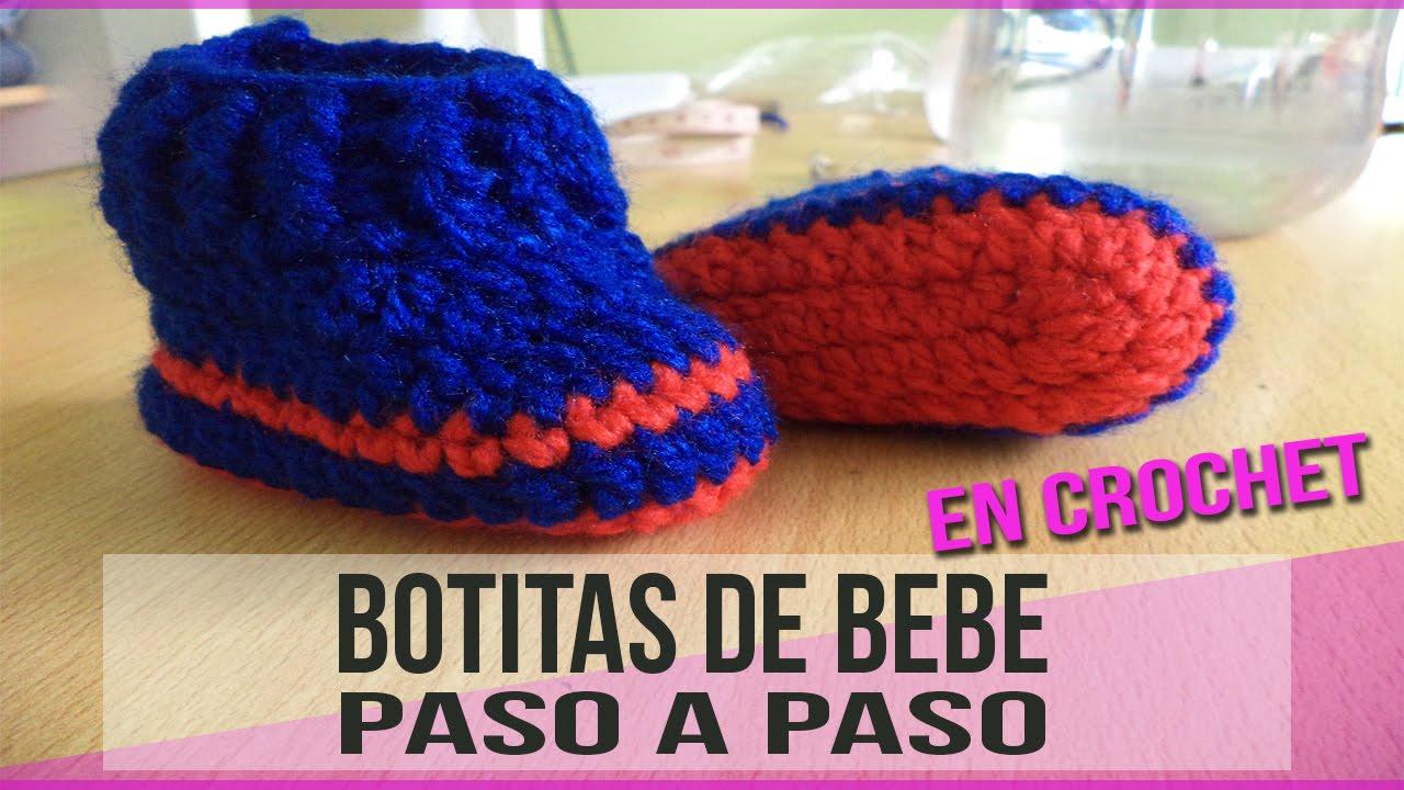 Botitas para bebe recien nacido tejidos en crochet youtube - Adornos para bebe recien nacido ...