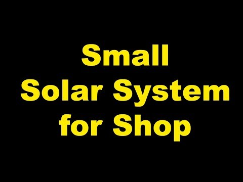 Solar System for Shop || 150 watts Solar Panel & Osaka Battery detail in Urdu Hindi by Abbas