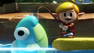 Zelda: Link's Awakening (Switch) - All Fish & Rewards (Fishing Minigame)
