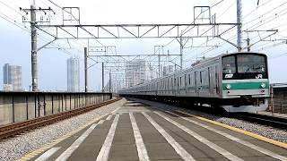 埼京線 新幹線も含めた様々な車両を中浦和駅にて(2013.7.27)