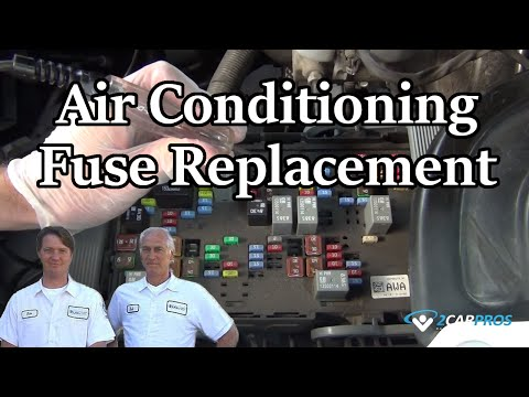 air conditioning fuse replacement youtube2004 Ford Focus Fuse Box Air Conditioner #19