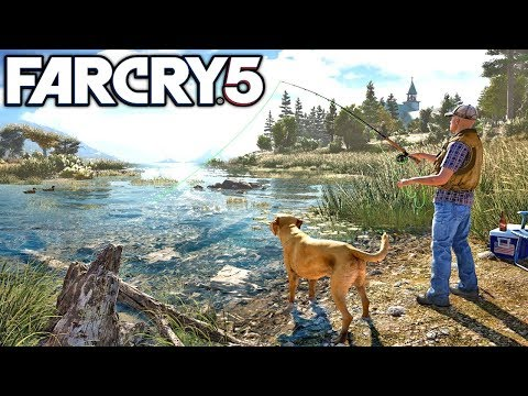 Far Cry 5 Hunting, Fishing, And Free Roam Gameplay! Walkthrough Part 2! (Far Cry 5)