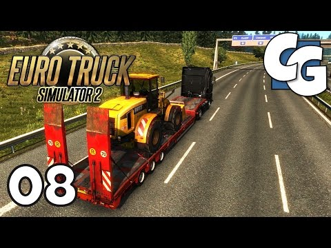 Euro Truck Simulator 2 - Ep. 8 - Unlocking Volvo & Scania Dealers