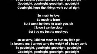 Maroon 5 - Goodnight Goodnight (Lyrics)