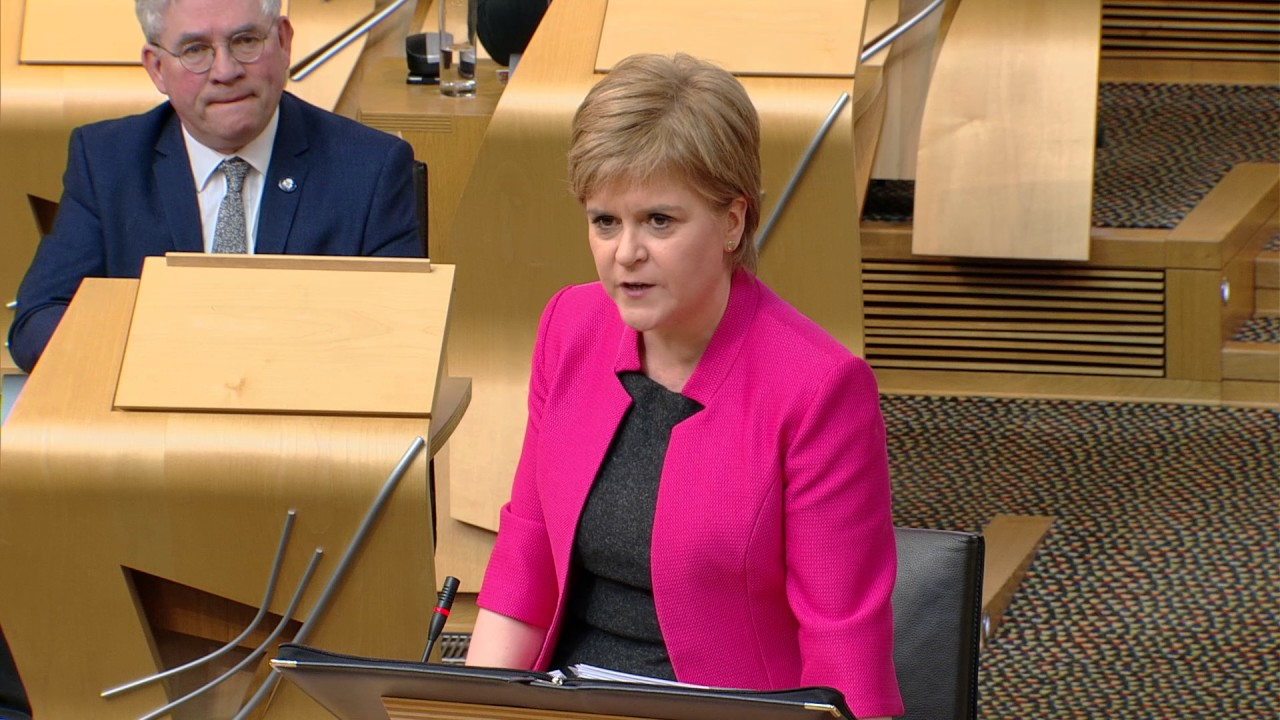 Image result for first minister at FMQ