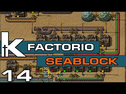 Factorio 0 17   Sea Block Ep 14   Red and Green Science