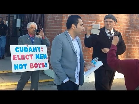 CHRIS GARCIA GETS CHASED OUT OF CUDAHY CITY COUNCIL FOR VOTING TO CHANGE MEETING LOCATION.