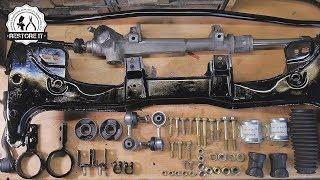 BMW E30 Front Subframe & Steering Rack Restoration   BMW E30 325i Sport Restoration S1 E2