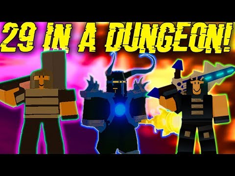 OVER 20+ PEOPLE IN MULTIPLE DUNGEONS #2! (ROBLOX DUNGEON QUEST) |