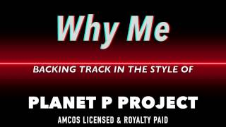 Why Me Planet P Project MIDI MP3 Backing Track