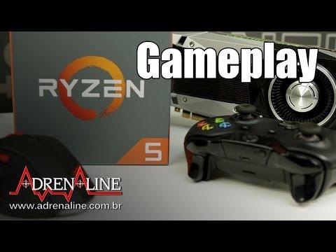 Ryzen 5 1400 em games: veja a performance da nova CPU da AMD em jogos!