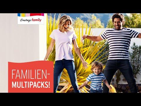 FAMILIEN-MULTIPACKS! | Ernsting's family | FAMILIEN-TRENDS