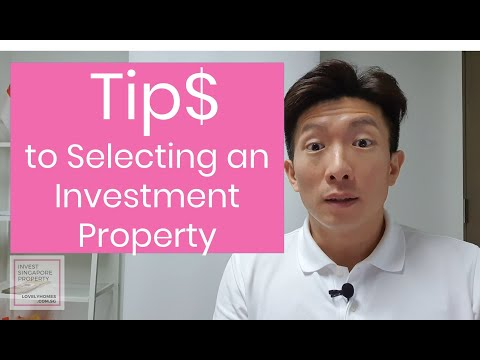 Tips to Selecting an Investment Property