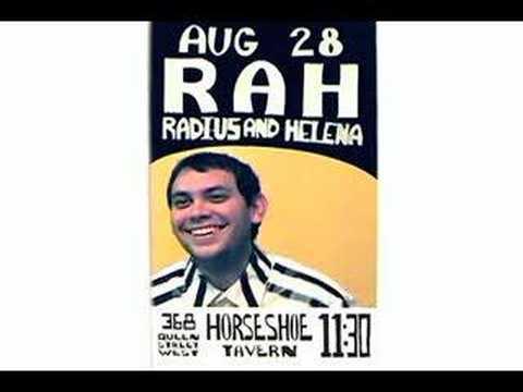 RadiusAndHelena - Horseshoe Tavern Poster