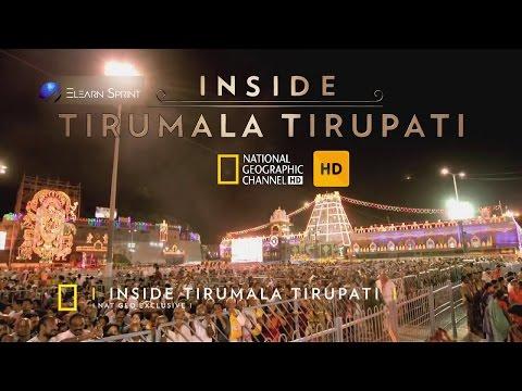 Inside Tirumala Tirupati (Telugu) | By National Geographic Channel | Elearn Sprint