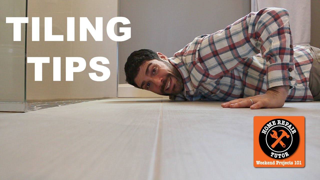 Tiling Tips And Techniques For Bathroom Remodeling Quick Tips - Bathroom repair tutor