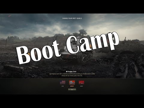 World of Tanks - Boot Camp Playthrough