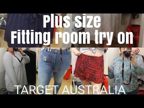 PLUS SIZE TRY ON | In The Fitting Room -Target | Plus size Australia thumbnail