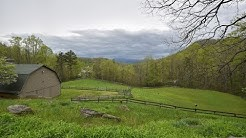 25+ Acres, USFS Border, Barn, Creek, Waterfall, Pond, 2 Homes! For sale in Franklin NC