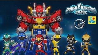 Power Rangers Dash & ArcadeGo Collaboration! - Let's Play!