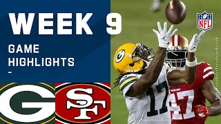 Packers vs. 49ers Week 9 Highlights | NFL 2020