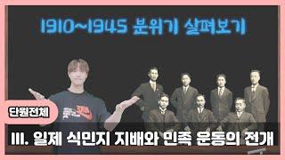 [고등 한국사] Ⅲ. 일제 식민지 지배와 민족 운동의 …