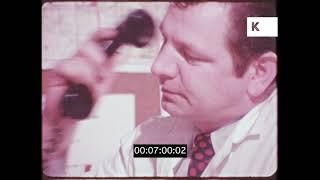 Police, Ambulance, Traffic Accident, 1970s USA, HD