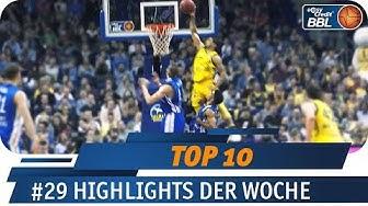 1,83m Guard springt über Verteidiger zum Alley-Oop Dunk | Telekom Sport TOP 10 | easyCredit BBL