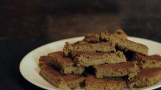 Homemade Pumpkin Bar Recipe : Healthy Snacks