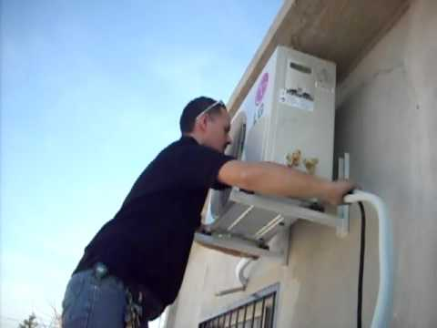 instalaci n aire acondicionado lg pict rico parte 7 youtube