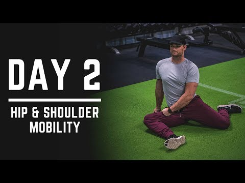 Day 2 - Hip Mobility + Shoulder Mobility Exercises - 30 Days of Training (MIND PUMP)