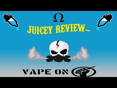 Drippy Drip Juice Co E-Liquid review *Full of mouth watering goodness* #ILOVEJOHN